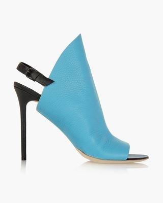 Picture of Metallic Python Heels