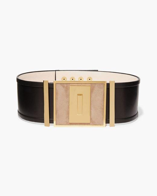 Picture of Crystal-embellished Suede Belt