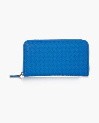 Picture of Leather-trimmed Canvas Wallet